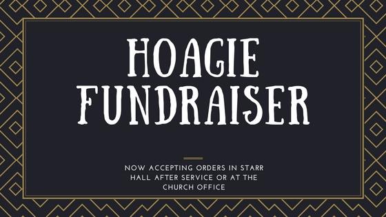 united methodist mens hoagie fundraiser at trinity church