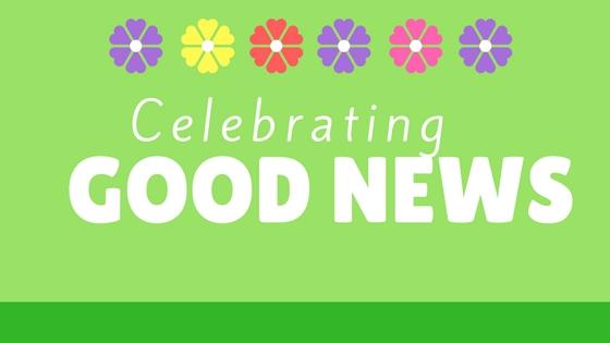 celebrating good news